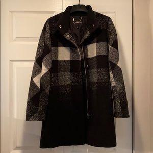 Express plaid coat